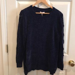 Lauren Conrad Navy Sweater